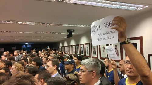 18.10 e 19.10.2016 - Mobilização no Congresso pelo PL 5865/16