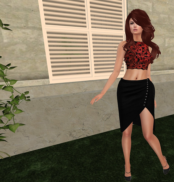 Joie mixed mesh outfit, Sn@tch ( riot vendor)