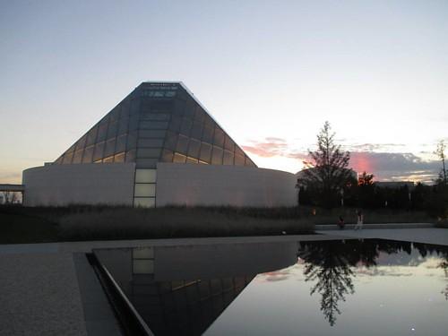 At the Ismaili Centre #toronto #agakhanmuseum #ismailicentre #architecture #evening
