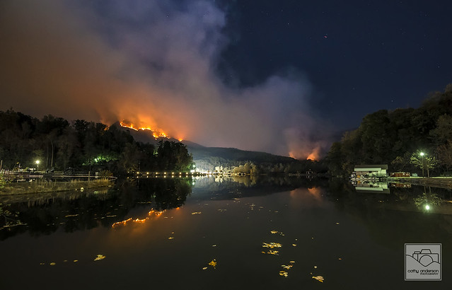 Lake Lure Wildfire