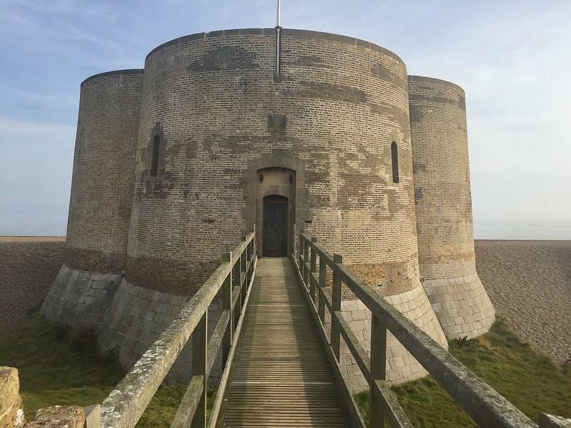 Napoleonic castle Aldeburgh Suffolk