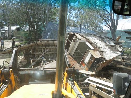 local demolition contractors at work