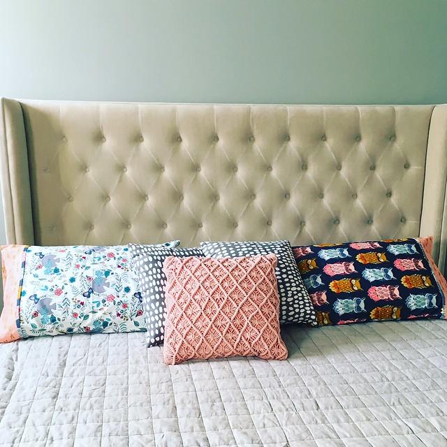 kelbysews Nightfall Pillowcases