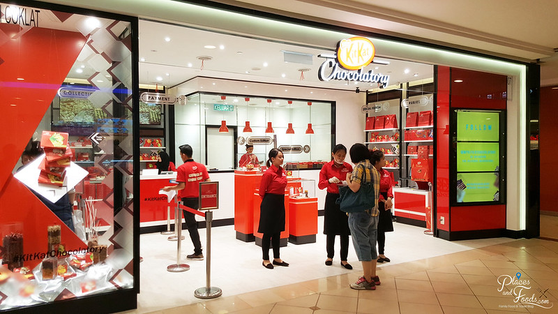 kitkat chocolatory mid valley