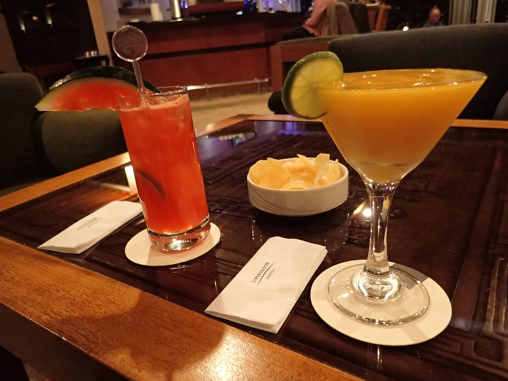 Cocktails for G's birthday
