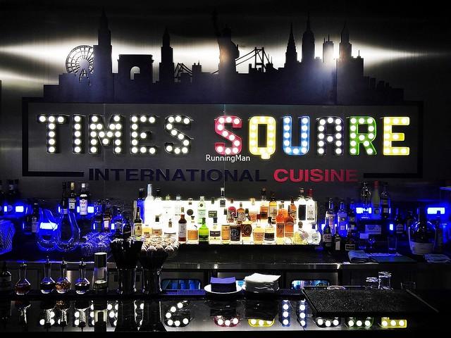 Times Square Restaurant Signage
