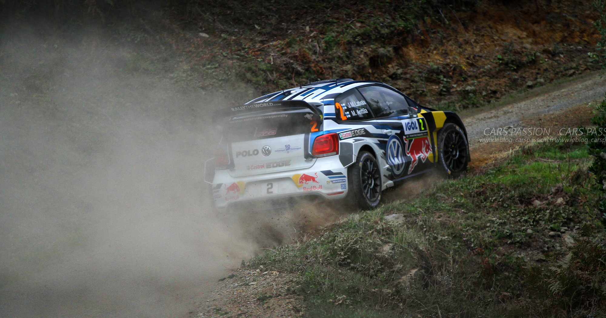 WRC 2016 avec VW, total Fun au Tour de Corse 2016 !