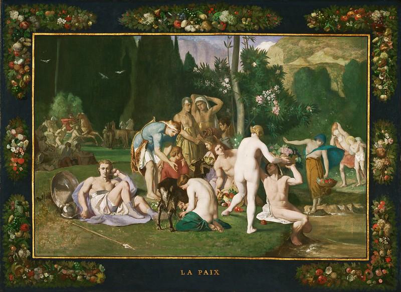 Pierre Puvis de Chavannes - Peace (1867)