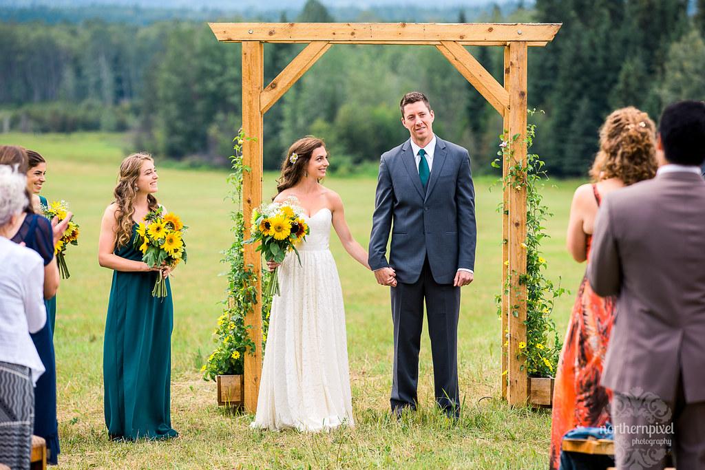 Farm Wedding - Smithers BC
