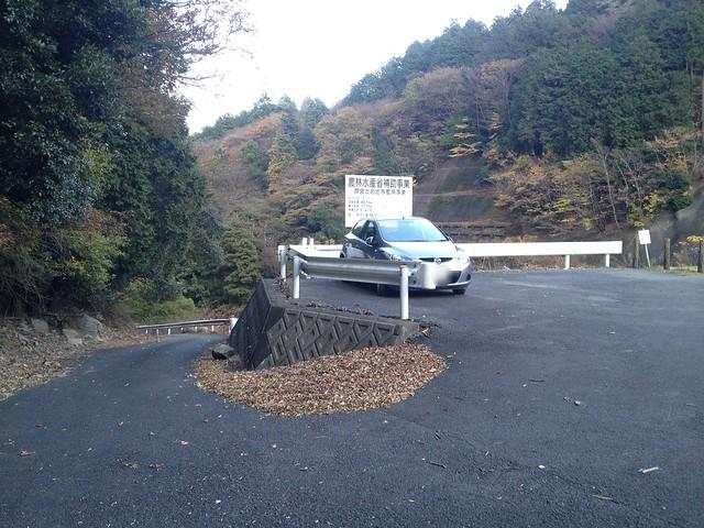 朝倉山 大谷池 駐車場
