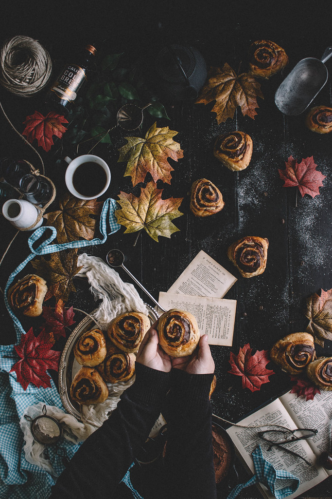Chocolate & Cold Brew Coffee Croissant Buns | TermiNatetor Kitchen