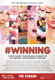 #WINNING - Exhibit Poster