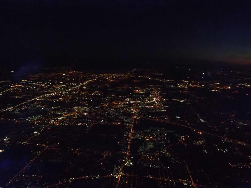 Departing Orlando