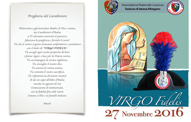 Festa Virgo Fidelis 27.11.2016