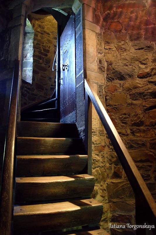 Выход на лестницу