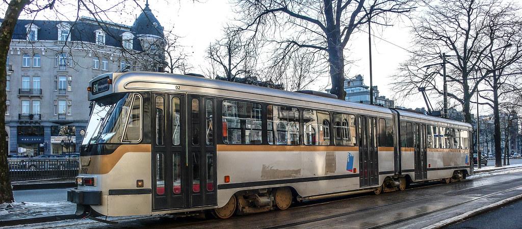 TRAM 81 [BRUSSELS TRAM SERVICE]-123742