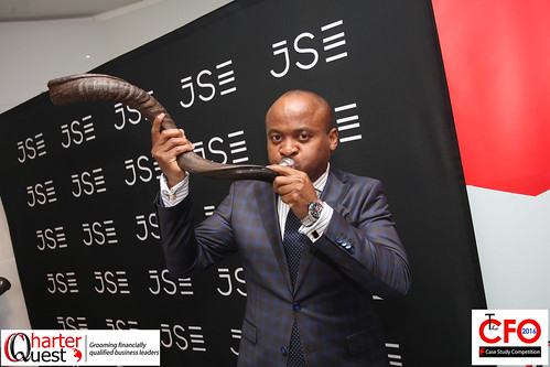 Day 7 Market Open at the Johannesburg Stock Exchange