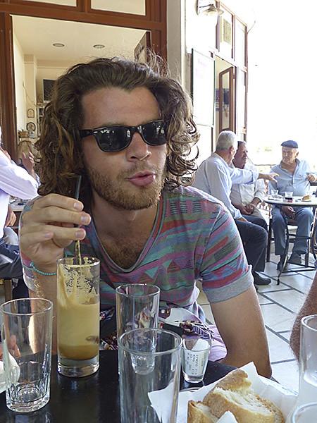 café frappé à Filoti