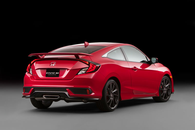 Honda Civic Si LA Reveal