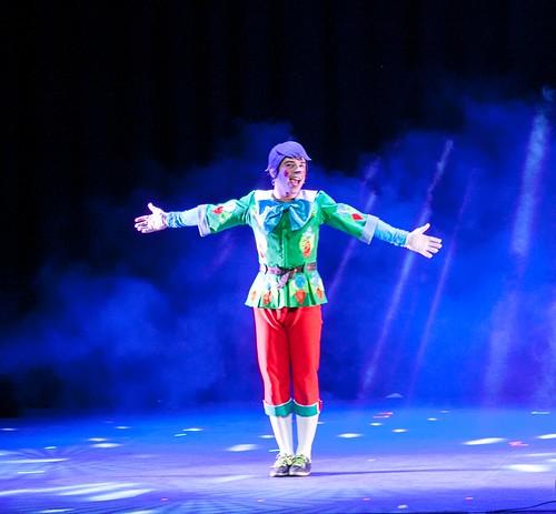 Fabio Arrante se mete en la piel de Pinocho en un musical infantil