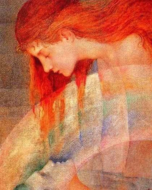 Love this gorgeous art by Phoebe Anna Traquair.