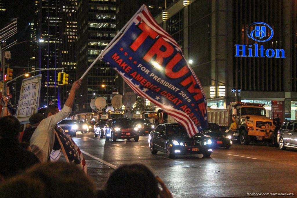 Ночь в Нью-Йорке, когда выбрали Трампа samsebeskazal-7410.jpg