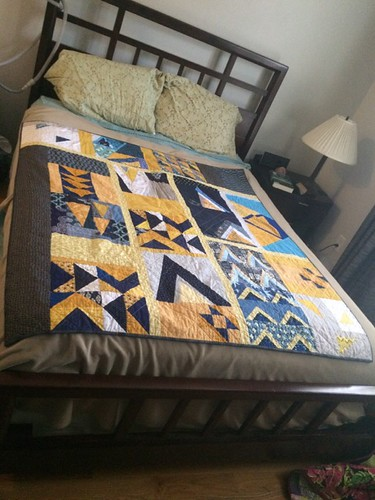 Triangle Serenity quilt