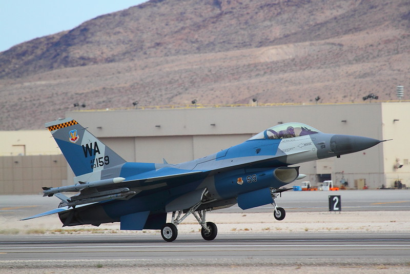 IMG_4810 F-16 of the 64th Aggressor Squadron