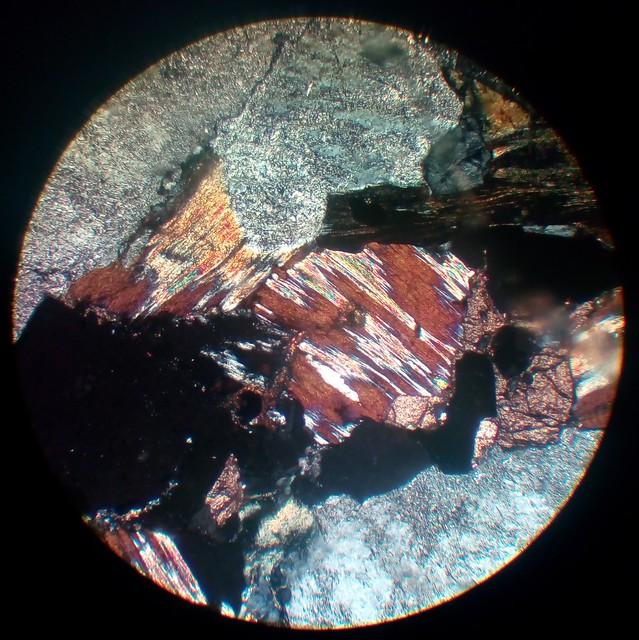 Chlorite (30 µm thin section, XPL)