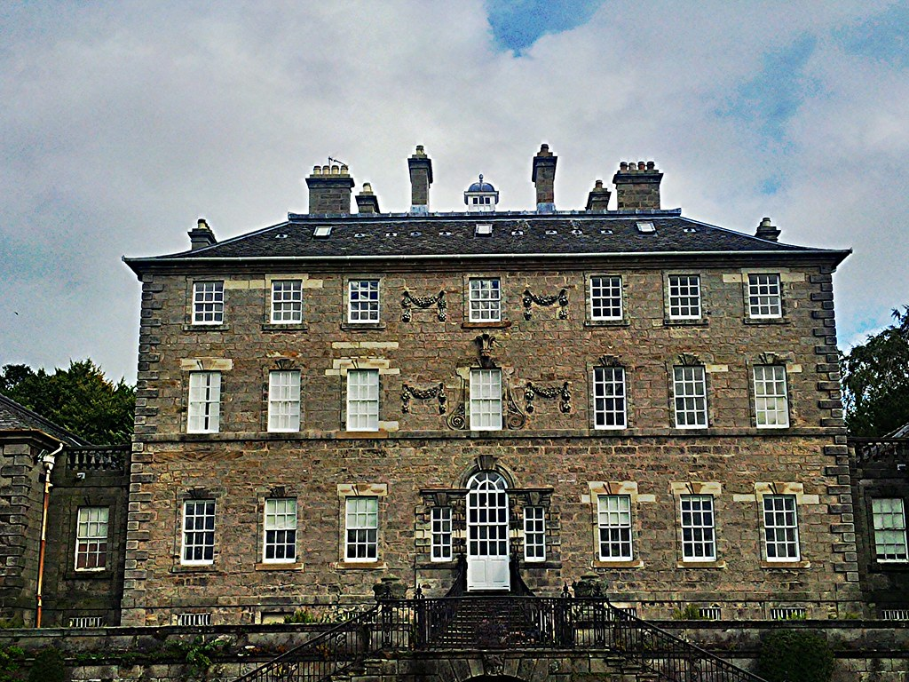 Pollok House, Glasgow, Scotlnd.