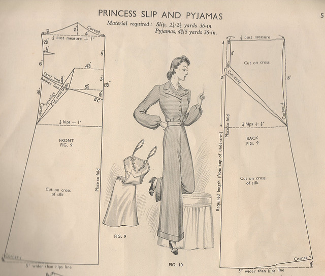Pattern for a Princess Slip