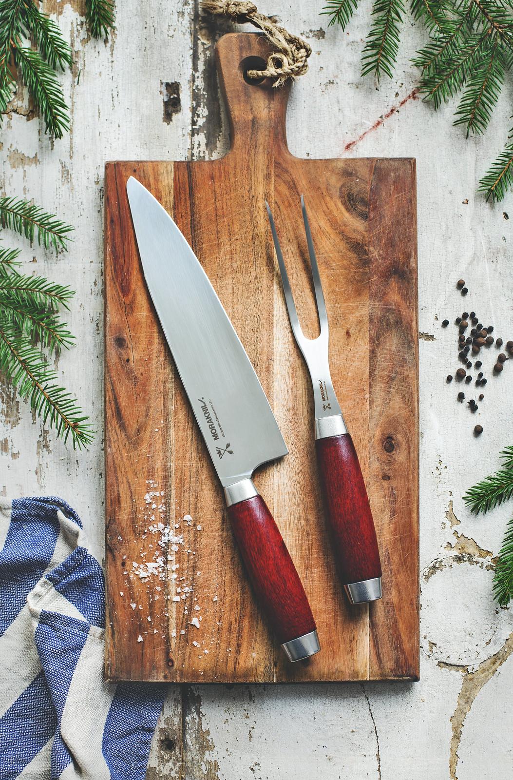 Kökskniv & Grillgaffel från Morakniv