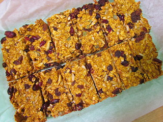 Nut and Fruit Granola Bars