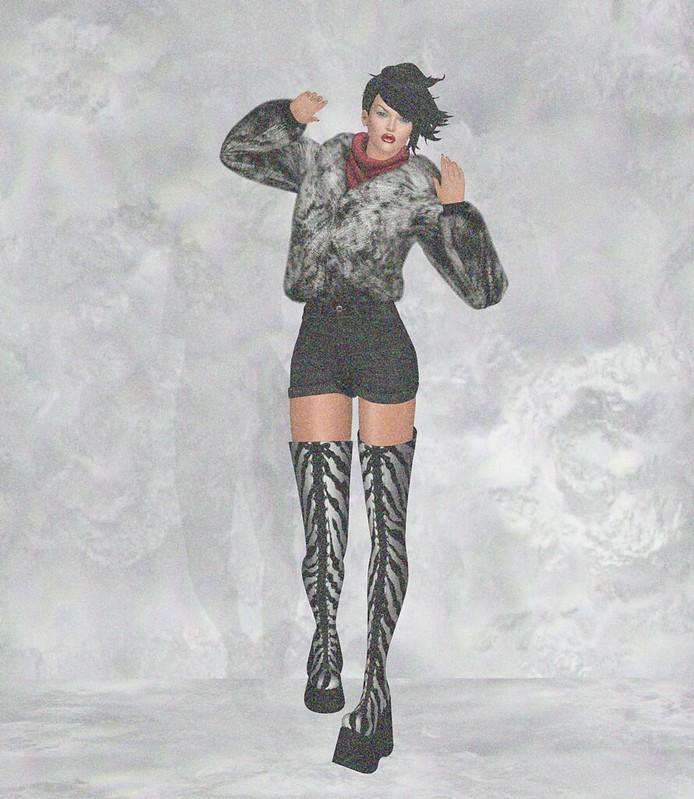 Sn@tch Astrid Velvet Stomper boots