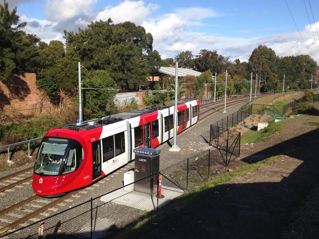 Tram Hercules Street