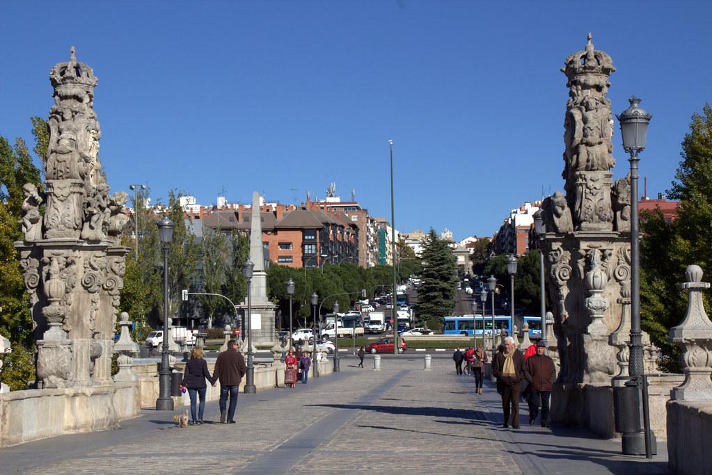 entre el Puente de Toledo y La Arganzuela
