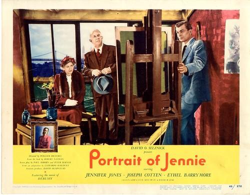 Portrait of Jennie - Lobbycard 1
