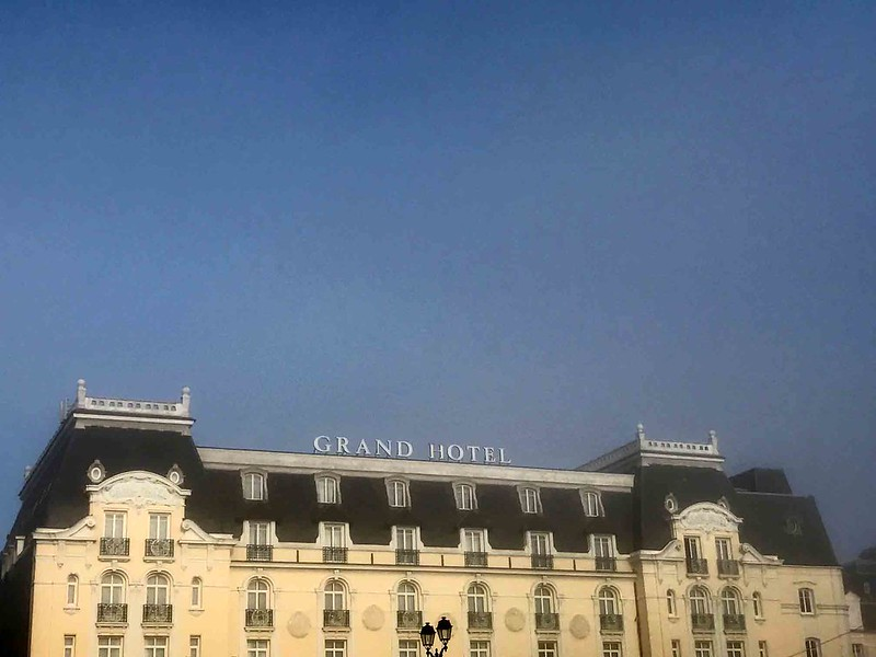 City Landmark - Proust's Bed & the Grand Hotel, Cabourg, France