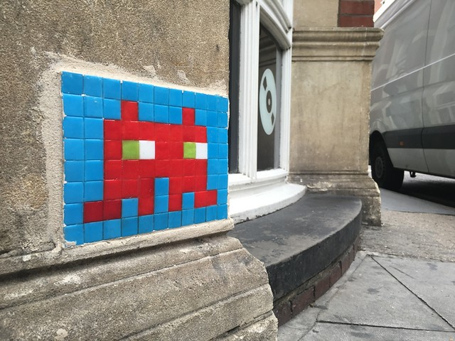 Reactivated Space Invader - LDN_034