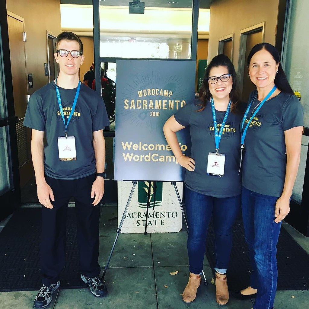 Rocking day 2 at #wcsac with the fam-bam! #wordpress #wordcamp #sacramento