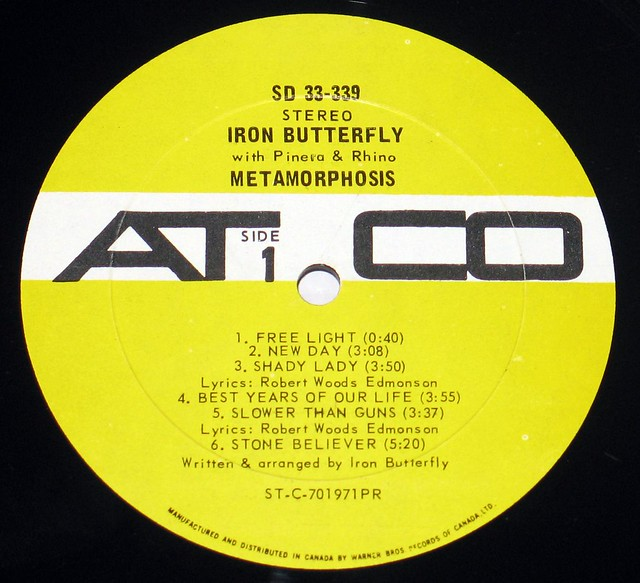 Iron Butterfly - Metamorphosis with Pinera and Rhino