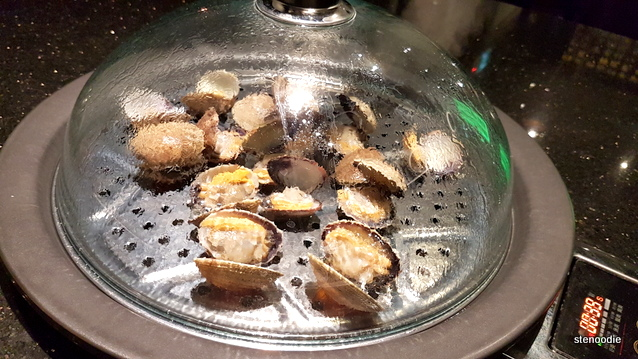 Vancouver Clams in steamer