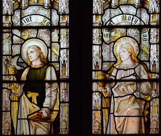 St John and St Mary Magdalene by Heaton, Butler & Bayne, 1889