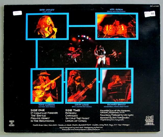 """MAGNUM MARAUDER ORIG UK 12"""" LP VINYL"""