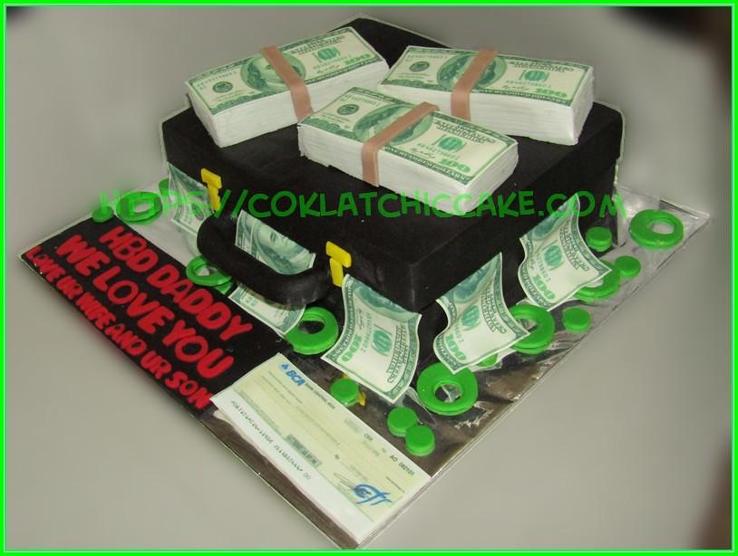 Cake Koper Uang