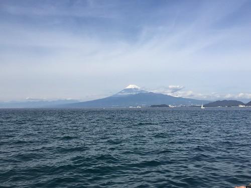 Mt.Fuji from Nishiura, Numazu city, Shizuoka prefecture, Japan