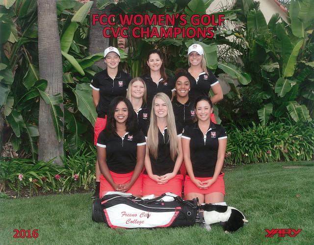 2016 Women's Golf CVC Champions