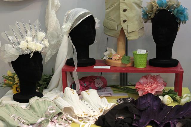 coiffes, voile, corsets