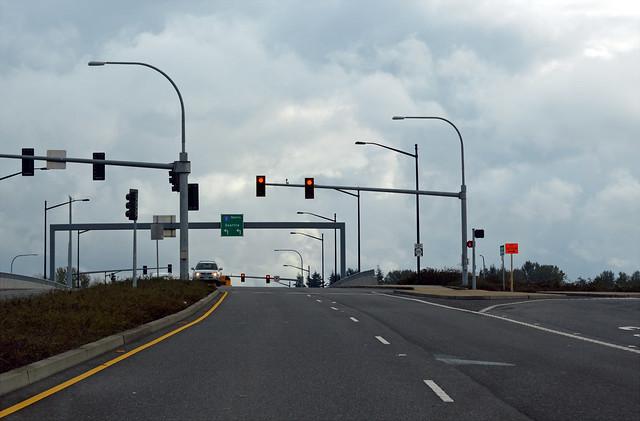 SR 501 @ I-5 northward