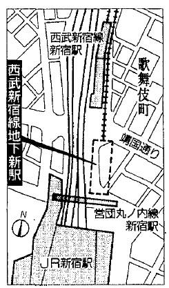 西武新宿線 国鉄新宿駅乗り入れ計画 (74)